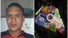 Vendedor de balas é preso após delegado 'inventar' cocaína