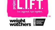 Weight Watchers® And The American Cancer Society® Team Up To Showcase The Power Of Community Through Project L.I.F.T.