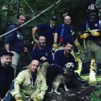 Firefighters Come to the Rescue of Dog Trapped in Cave