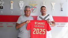 Benfica oficializa a contratação do lateral Gilberto, ex-Fluminense