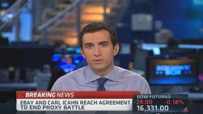 Icahn ends proxy battle with eBay
