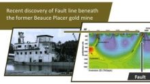 Beauce Gold Fields Using New Geophysics Technology to Survey Along the St-Gustave Road over the Old Placer Gold Mine
