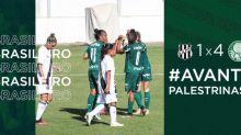 Com dois de Carla Nunes, Palmeiras goleia Ponte Preta em retorno