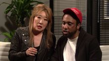 Sandra Oh Fires Jussie Smollett in   Saturday Night Live Sketch About   Empire Fallout