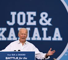 Joe Biden mocks Trump's accusation that Kamala Harris will take over presidency