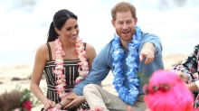 Meghan Markle and Prince Harry Go Tropical During Australian Beach Visit -- See the Pics!