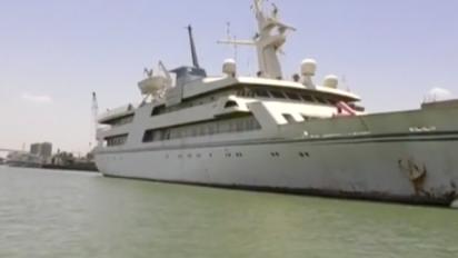 Lo yacht di Saddam diventa un hotel