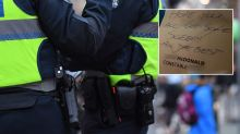 Kind gesture from police called to home with boy screaming 'Tick Tock'