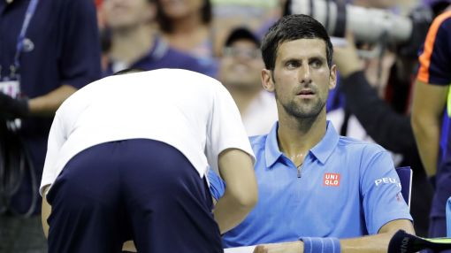 Djokovic faces scrutiny over injuries in US Open 2nd round