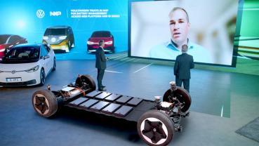 Volkswagen福斯集團MEB電動汽車平台採用恩智浦電池管理解決方案
