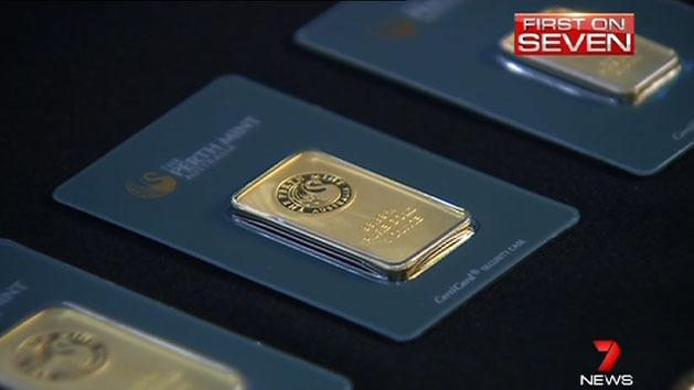Evidence gold bars are being counterfeited