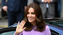 Duchess of Cambridge looks lovely in lavender on final day of royal tour