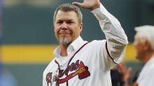 A Chipper Jones autographed baseball became a heartwarming Christmas gift