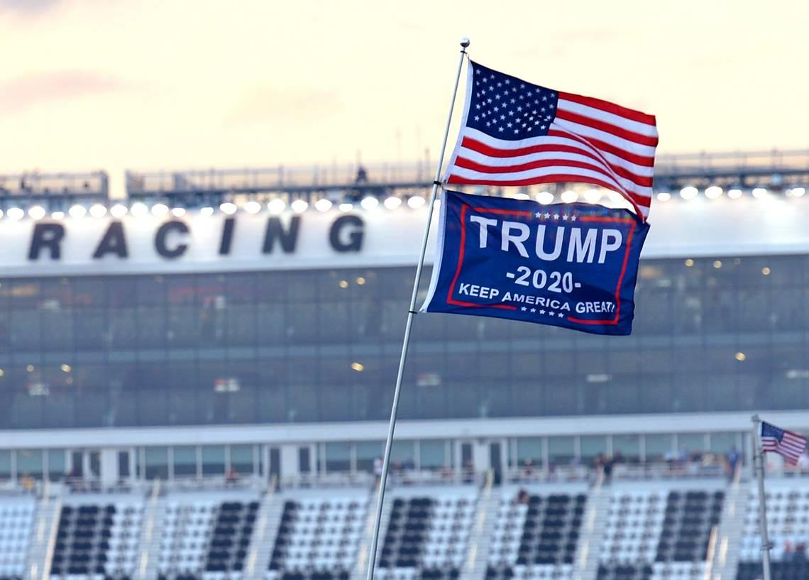 Trump flag angered man so he dumped trash on resident's lawn for months, NJ cops say