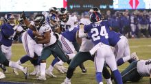 Philadelphia Eagles open as favorites for Thursday night matchup with New York Giants