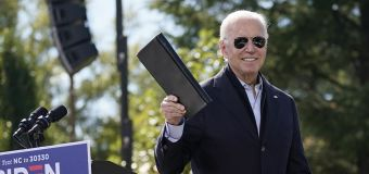 Biden surges to largest-ever lead in new poll
