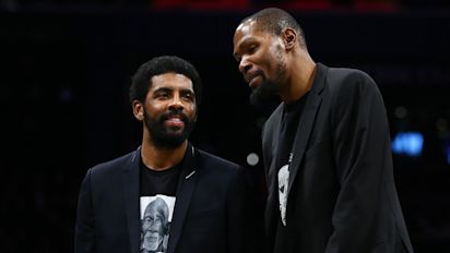 KD, Kyrie say Nets don't need traditional coach