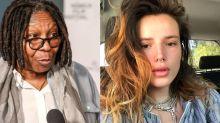 Whoopi Goldberg comenta nudes de Bella Thorne e atriz rebate