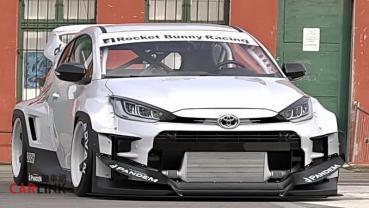 「鴨王」變「鴨神」!Toyota GR Yaris第一套「暴龜」現身by「火箭兔」