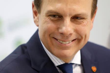 Doria defende criação de frente partidária para evitar eleição de ...