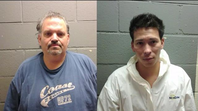 No bond for men charged in murder of mom, daughter