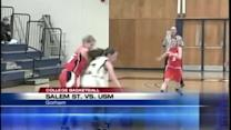 USM and Bates women pick up wins