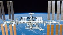 The International Space Station has sprung 'a small air leak,' so a NASA astronaut and 2 cosmonauts are hunkering down to help find and repair it