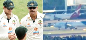 Aussie cricketers arrive home after Covid chaos