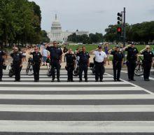 Police officer killed in exchange of gunfire outside Pentagon