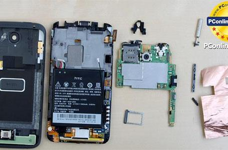 HTC One X gets teardown, battery unsurprisingly dominates