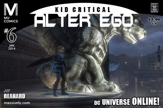 Alter Ego: Issue #6 - Gargoyles' Gaze