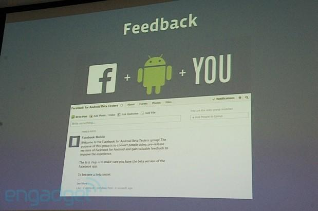 Facebook announces Android app beta testing program starting June 27th (update: now with links)