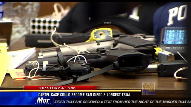 Cartel case could become San Diego's longest trial