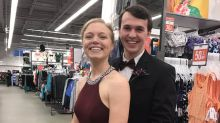 To Make It to Prom After Her Old Navy Shift, Committed Employee Wears Gown to Work