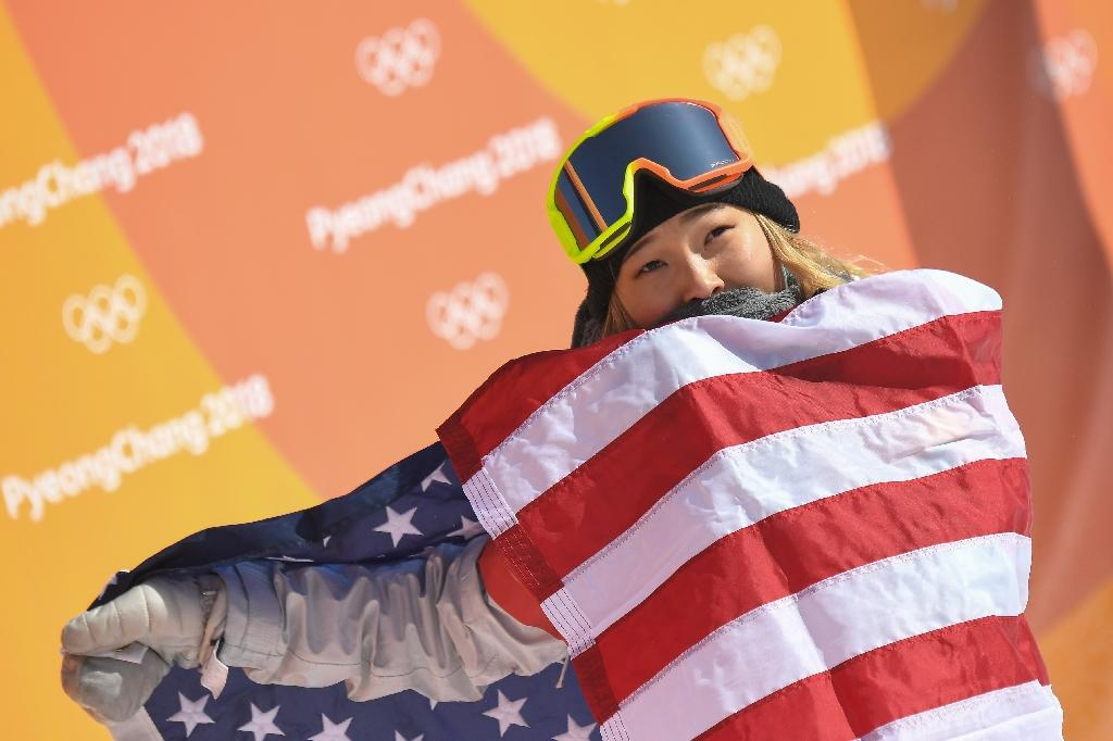 Chloe Kim justified her status as the hot favourite with an eye-popping top score of 98.25 (AFP Photo/LOIC VENANCE)