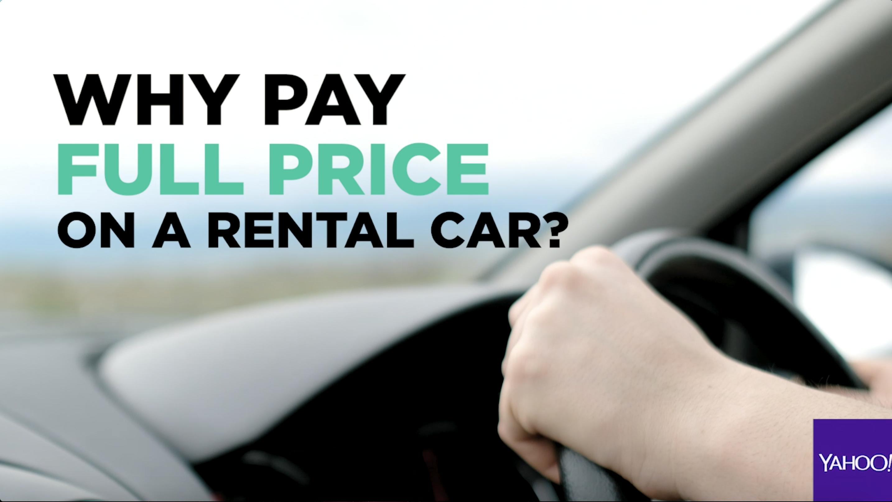 Car rental savings Video