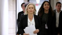 A partisan split on harassment charges: Dems resign, GOPers deny