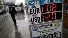 El euro cae a mínimos desde finales de septiembre frente al dólar