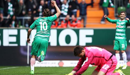 Bundesliga: Blitzstart reicht Werder zu Sieg gegen Hertha