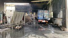 中市霧峰鐵皮工廠火災五人受傷