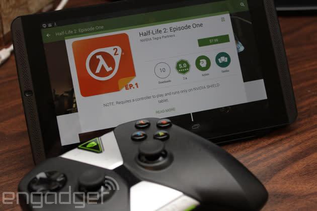 'Half-Life 2: Episode One' lands on NVIDIA's Shield tablet, skips handheld