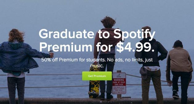 Spotify now offers US college students half-price music streaming (updated)