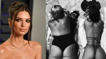 Emily Ratajkowski defends friend body-shamed in bikini Instagram: 'All these haters are crazy'
