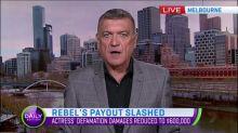Rebel Wilson's payout slashed