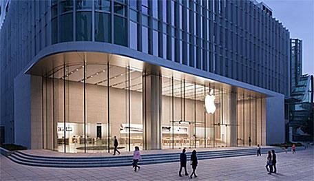 Huge crowds attend Shanghai Apple Store grand opening