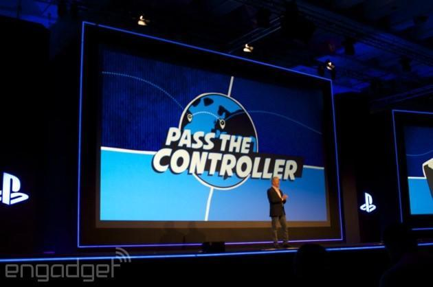 Sony's Share Play turns your PS4 into a 'virtual couch' for online co-op