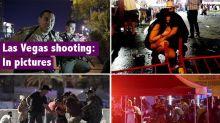 Las Vegas shooting: Shocking video shows moment gunman opens fire at music festival crowd