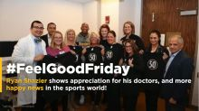 #FeelGoodFriday: Ryan Shazier visits his doctors in Cincinnati to thank them