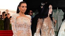 Kim Kardashian's Sheer Gown Was Inspired by Cher