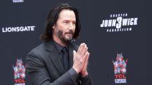 Keanu Reeves recién llega al Teatro Chino